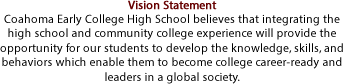CECHS Vision Statement
